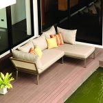 Stainless Steel Love Seat Sofa Set 1