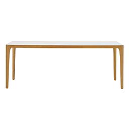 GT-2698-200 Teak Ceramic Rectangular Table