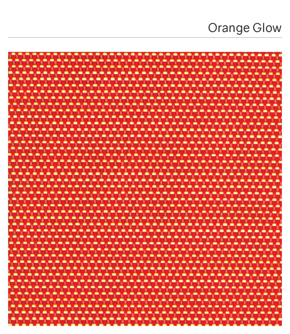 Customized Synthetic Fabric_MUSE #OrangeGlow-01