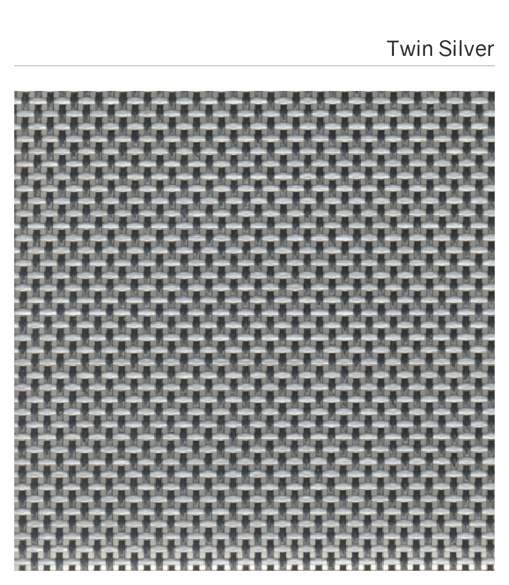 Customized Synthetic Fabric_MUSE #TwinSilver-01
