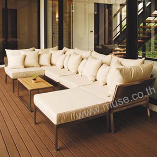 tainless Steel Sofa Set 1