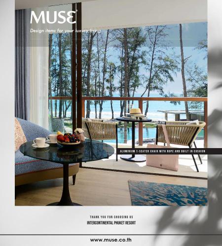 Post Chair InterContinental Phuket MUSE-01
