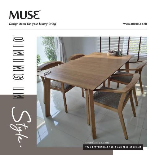 Post Dining Set MUSE 2104-01