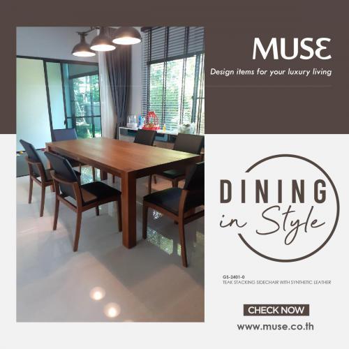 Post Dining Set MUSE  Splendor 270520-01
