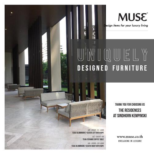 Post Thanks MUSE Sofa set 1702-01